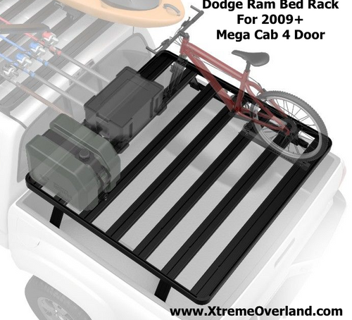 Dodge Ram Mega Cab 4-Door Pickup Truck (2009-Current) Slimline II Load Bed Rack Kit - by Front Runner
