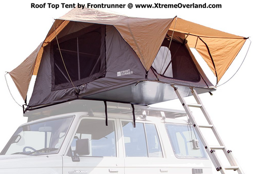 Roof Top Tent - by Front Runner 1.3M x 2.4M Low Profile 300mm 95lbs !!!