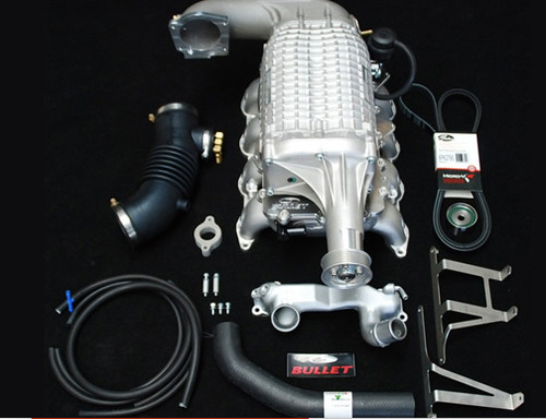 100 Series & LX470 4.7 V8 2UZFE Intercooled Supercharger Kit by Bullet