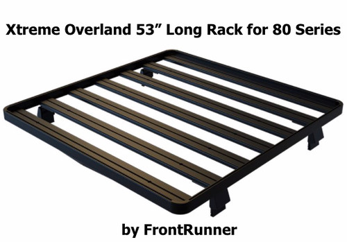 Toyota Land Cruiser 80 Roof Rack (Half Cargo Rack) Great for Roof Top Tent RTT