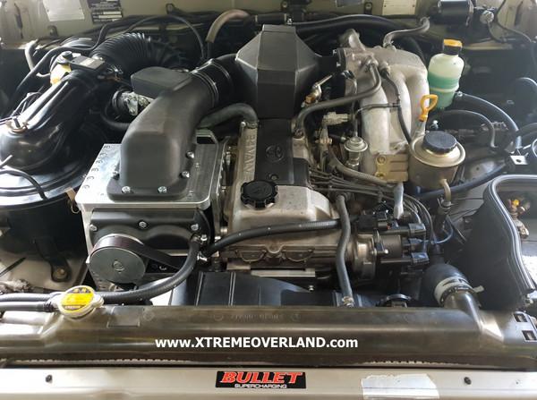 Bullet HPS2100 Supercharger Kit for 1fz-fe