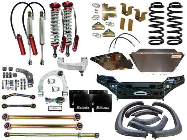 """Superior 4"""" Lift kit and Conversion Kit for LC200 Landcruiser"""