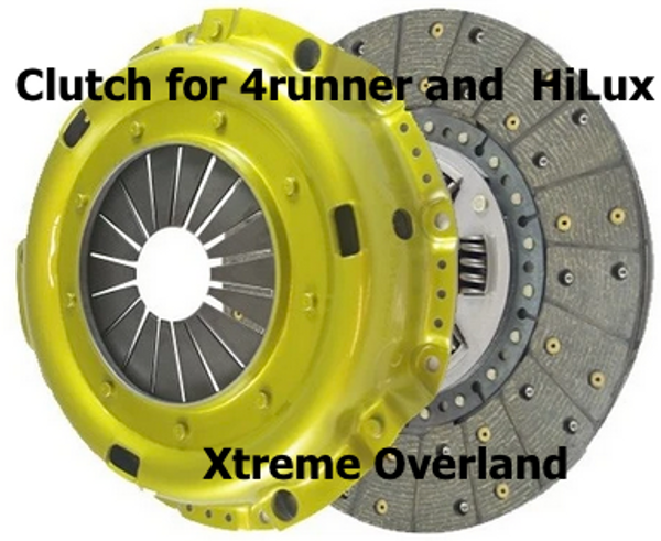 Toyota Clutch Kit - Hilux or 4Runner with GGN15 Trans & 1GR-Fe Engine (2005)