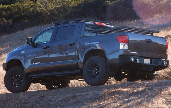 Toyota Tundra Crew Max Pickup Truck (2007-Current) Slimline II Load Bed Rack Kit - by Front Runner