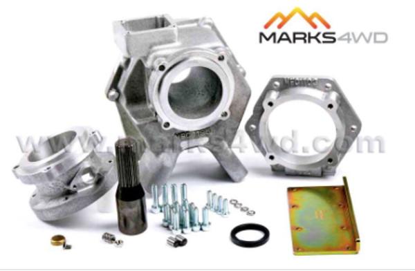 Marks4wd LS Engine 4L60E transmission transfer case Adaptor Kit. into 1991-1992 Toyota Landcruiser FJ80 With 3FE Engine and A440 transmission