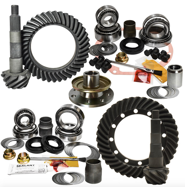 Nitro 70 & 80 Series Landcruiser Front & Rear Gear Package Kit, Select Your Ratio