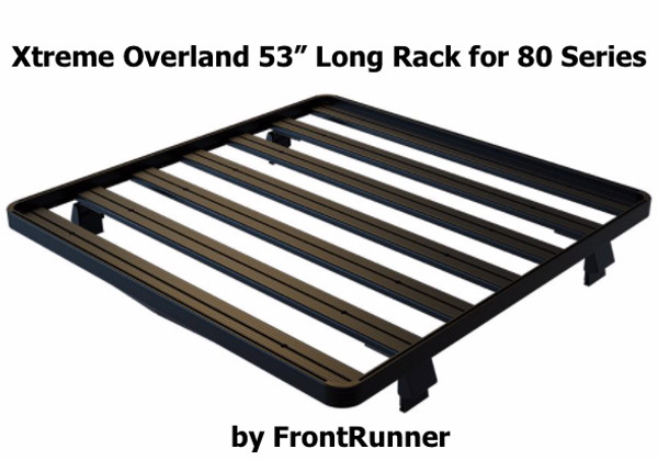 Toyota Land Cruiser 80 Roof Rack (Half Cargo Rack) Great for Roof Top Tent RTT
