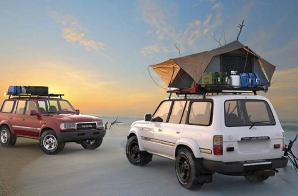 Frontrunner Slimline II Roof rack LC80 Landcruiser Xtreme Overland RTT