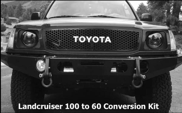 Landcruiser 100 to 60 Conversion Kit