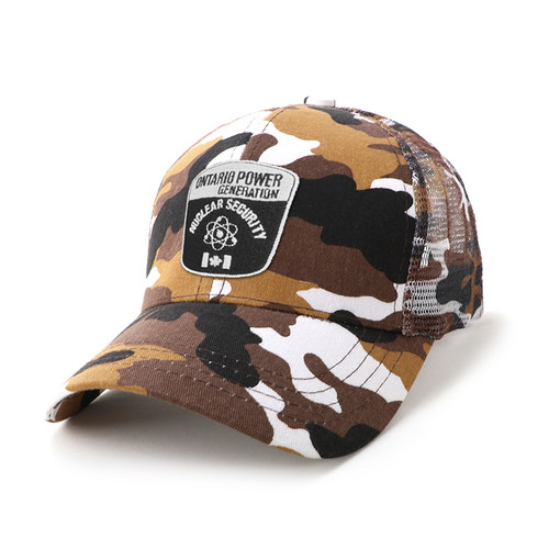 AH069 Cammo 6-Panel Cap