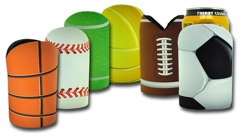 W018 Sublimated Sports Ball Cooler with Base