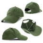 AH130 Enzyme Washed Cap