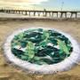 ERT7 Banana Beach/round towel
