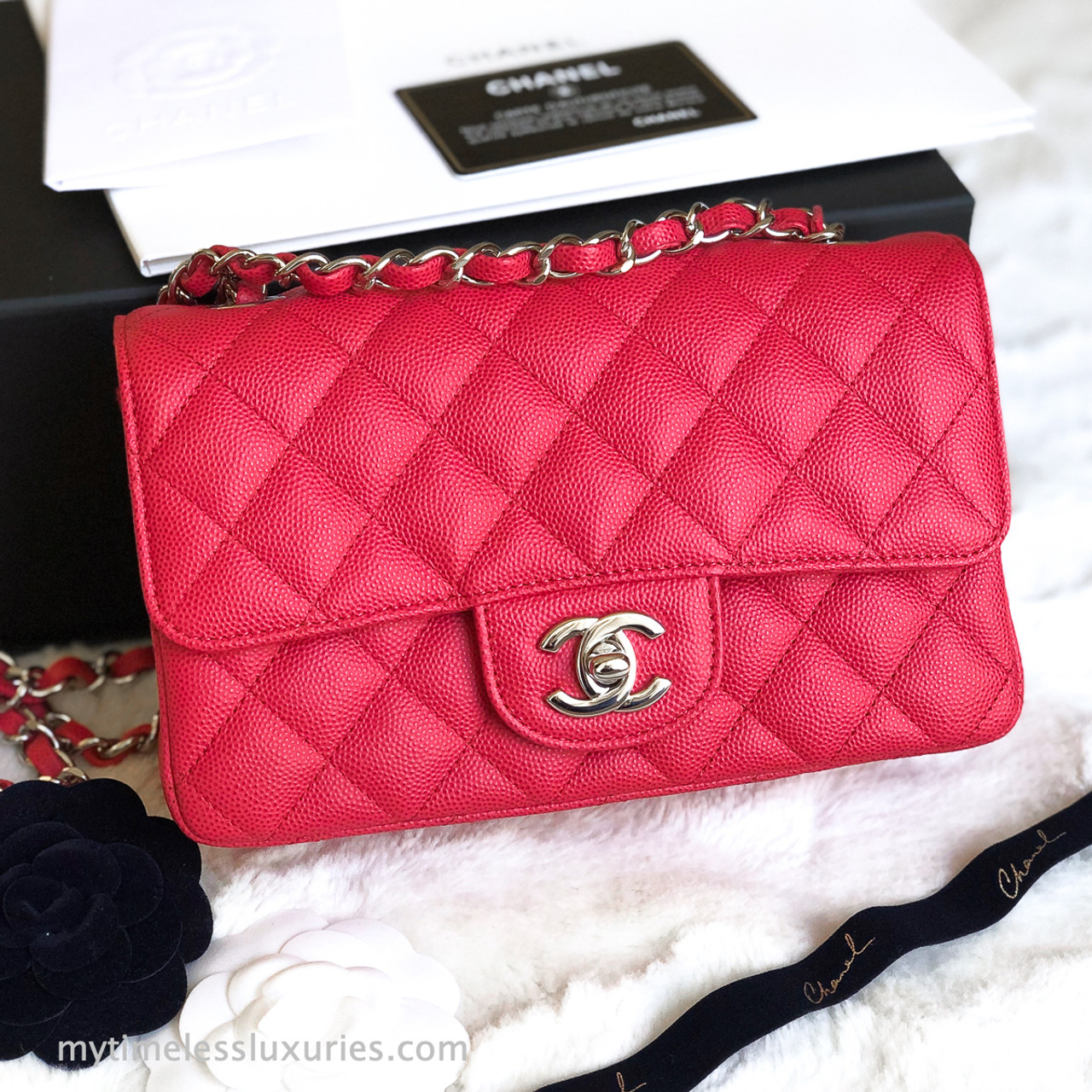 Handbag Review Chanel Classic Square Mini Vs Chanel Reissue Mini Maddy Loves