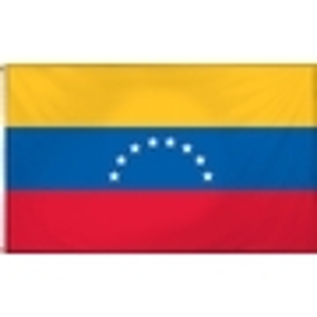 Venezuela With Seal Flags
