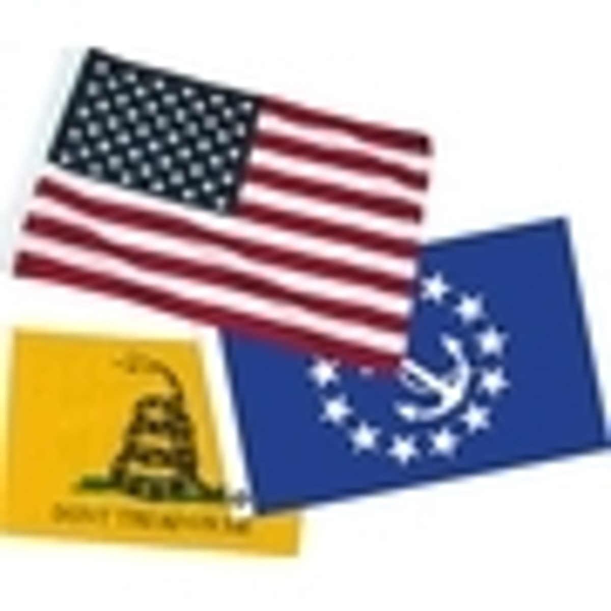 Small US Flags for Boats & Vehicles