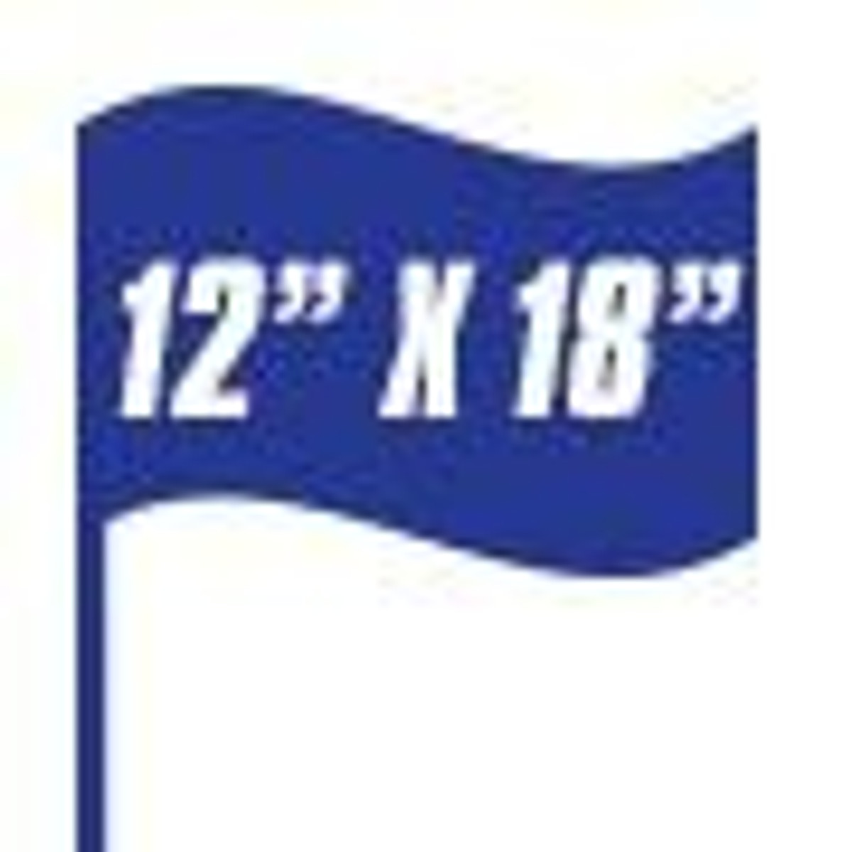 International Flags 12in x 18in Stick Flags