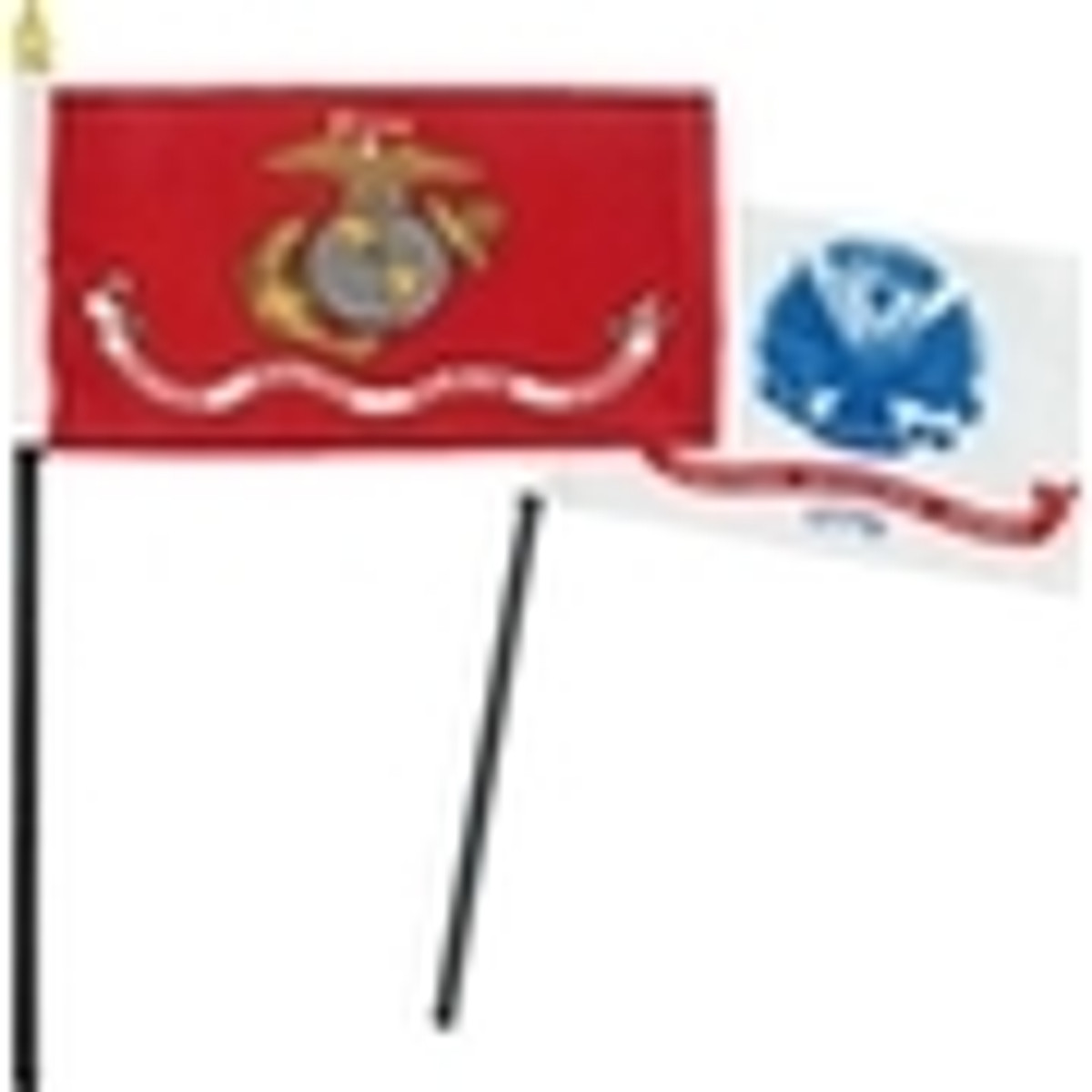 Military Stick Flags