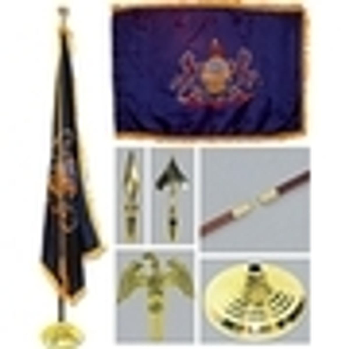 Indoor State Flag Kits