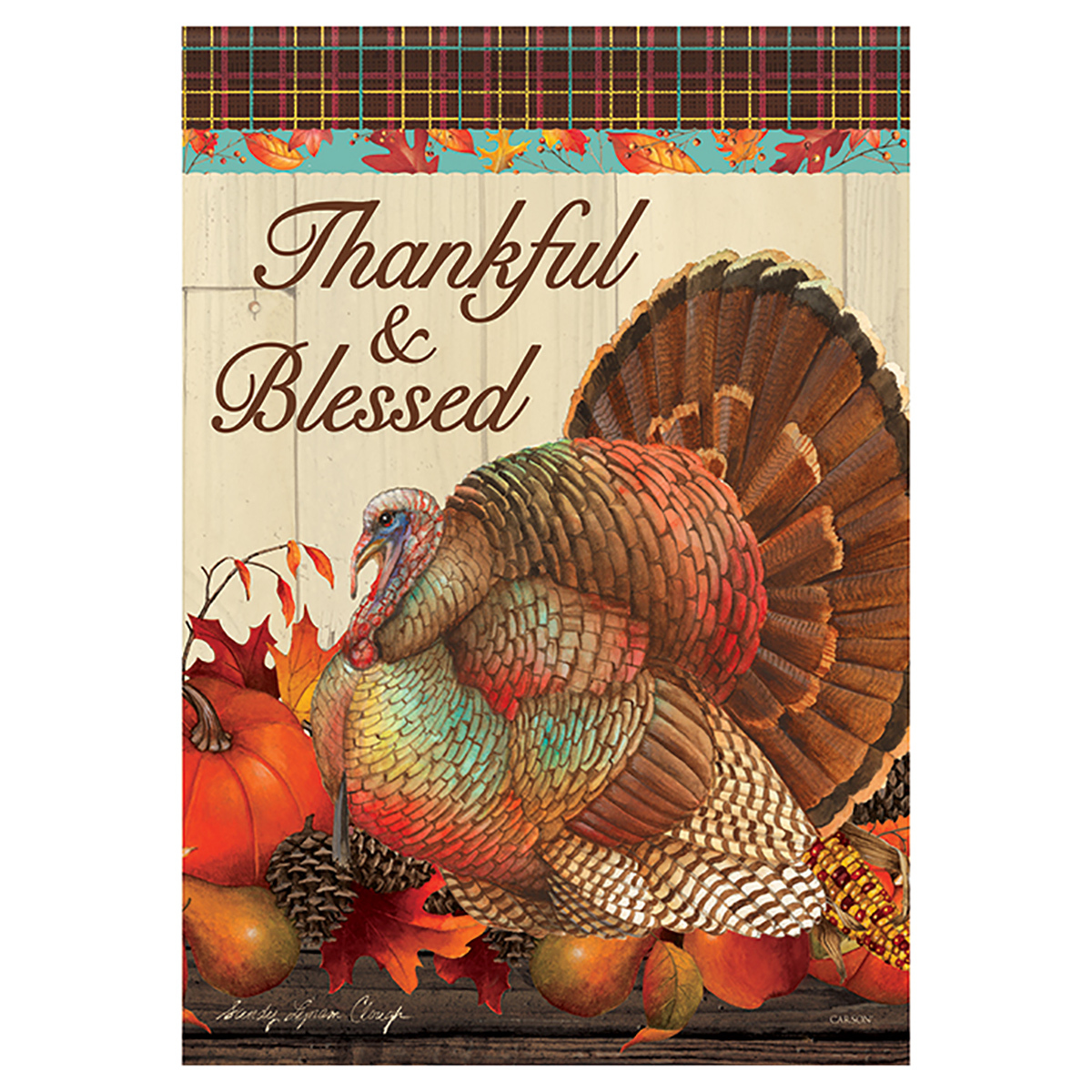 Thanksgiving Birds Banner