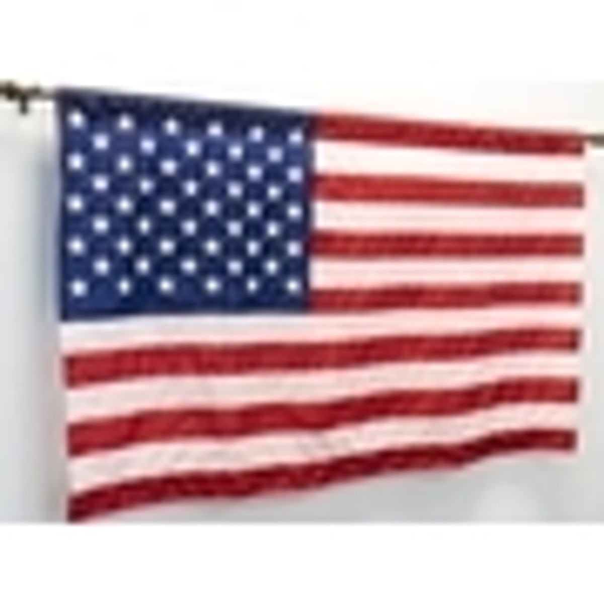 Auditorium Wall Mounted US Flags