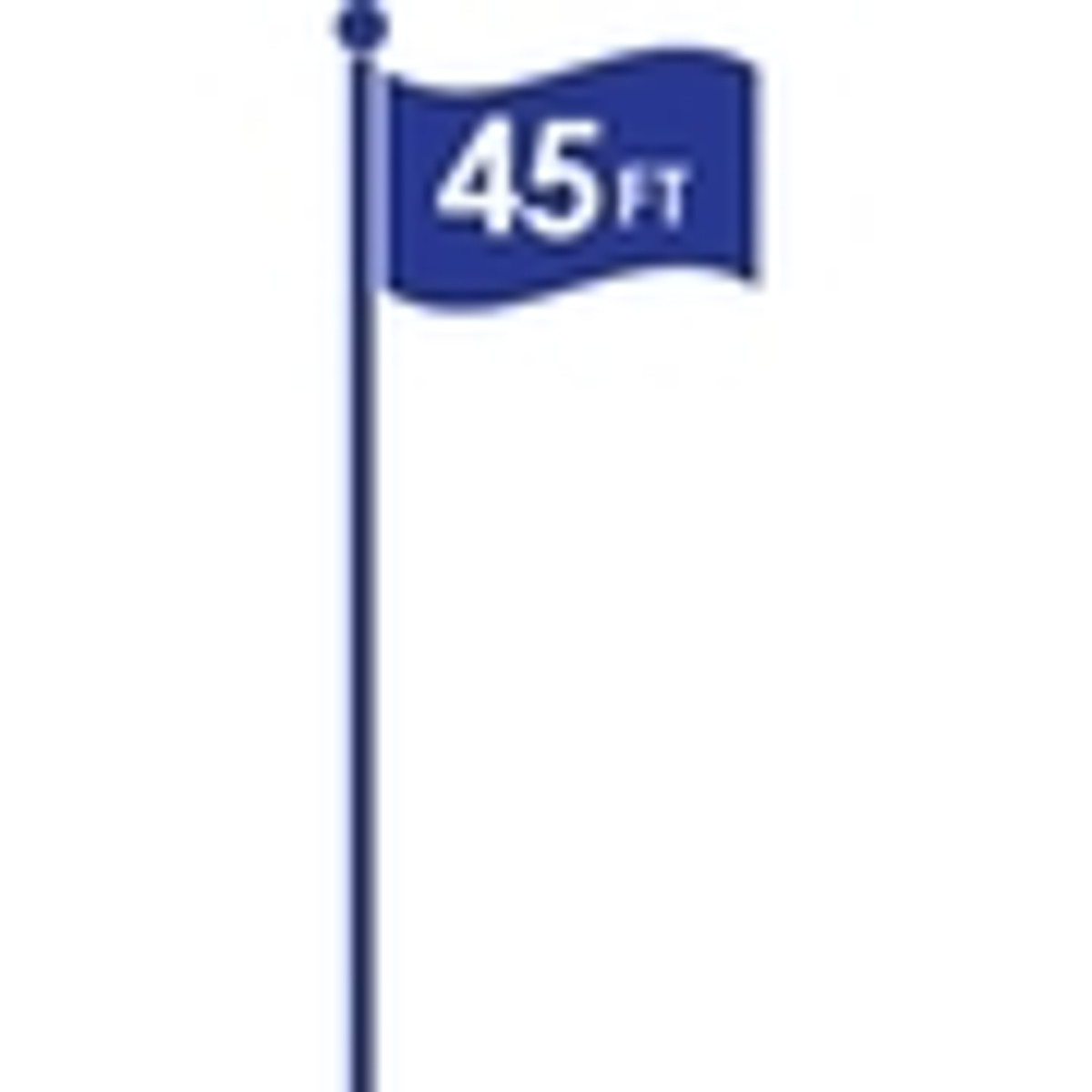 Flagpoles 45ft