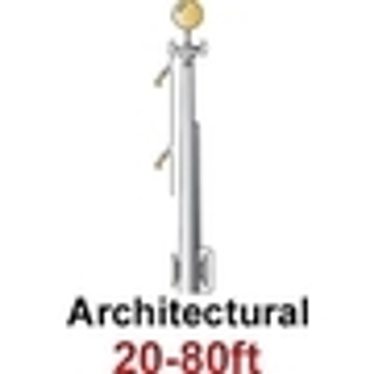 Architectural Commercial Flagpoles