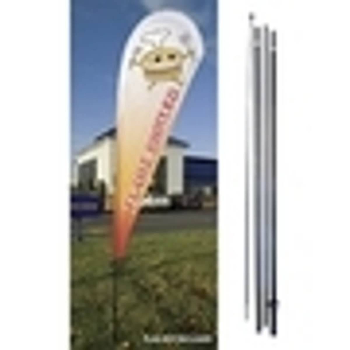 Feather & Flutter Flagpoles