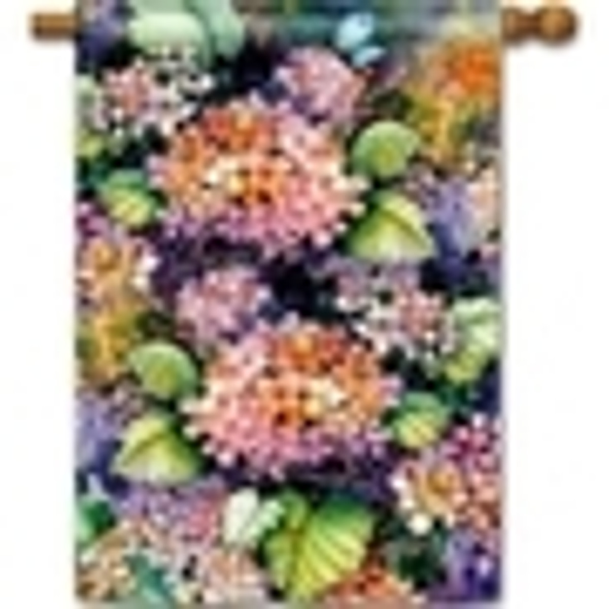 Floral Banner Flags