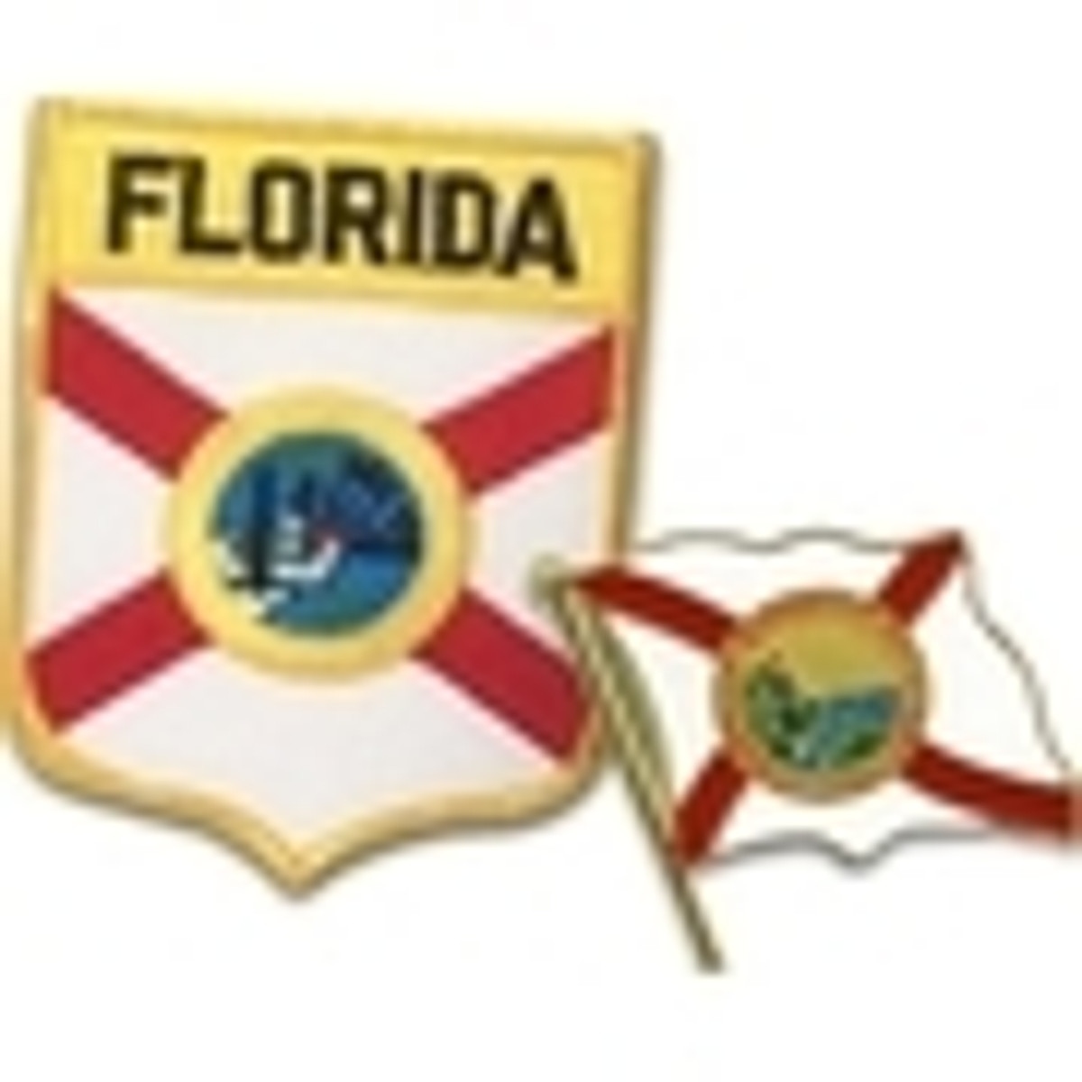 Florida Pins, Patches & Decals