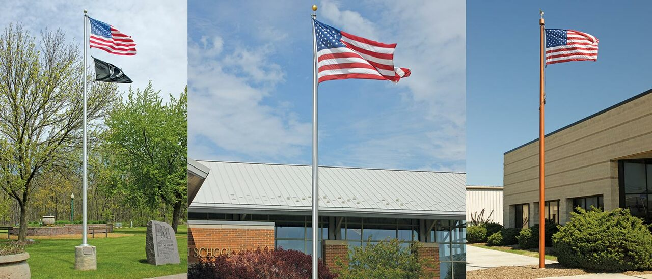 Flag Poles, Any Size Lowest Prices Guaranteed