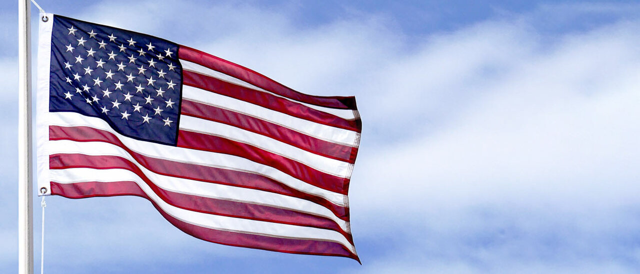 35 Star American Civil War Flag....6th Wisconsin Flag