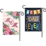 Mother's Day & Father's Day Garden Flags