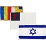 Religious Flags Superknit Polyester