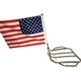 Fold Down Motorcycle Flag Mounts
