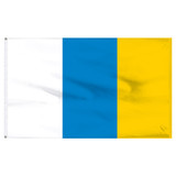 "Canary Islands 12"" x 18"" Nylon Flag"