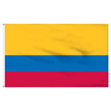 "Colombia 12"" x 18"" Nylon Flag"