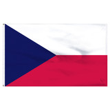 "Czech Rep. 12"" x 18"" Nylon Flag"