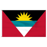 Antigua & Barbuda 5ft x 8ft Nylon Flag
