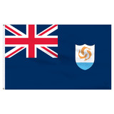 Anguilla 5ft x 8ft Nylon Flag