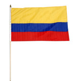 Colombia flag 12 x 18 inch