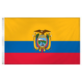 Ecuador Flag 3ft x 5ft Super Knit Polyester