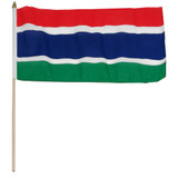 Gambia 12 x 18 Inch Flag