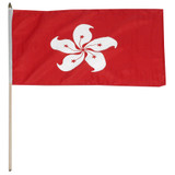 Hong Kong flag 12 x 18 inch