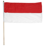 Indonesia flag 12 x 18 inch