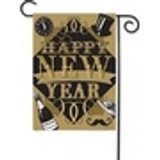 New Year's Garden Flags