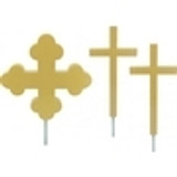 Flagpole Cross Ornaments