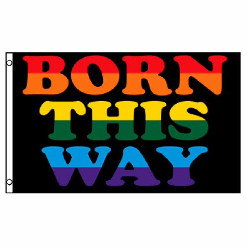 Born This Way Flag 3ft x 5ft Printed Polyester