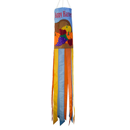 Fall Windsock - Happy Harvest