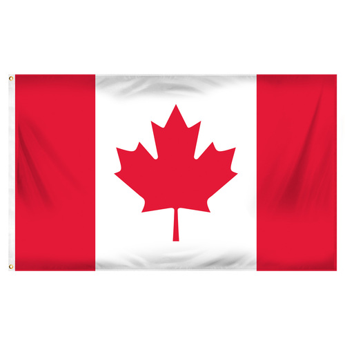 Canada Flag 3ft x 5ft Printed Polyester